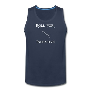Roll For Initiative - Bow - Men's Premium Tank