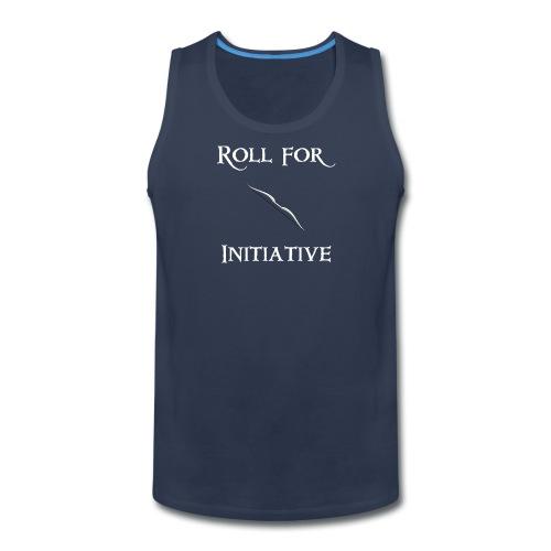 Roll For Initiative - Bow - Men's Premium Tank