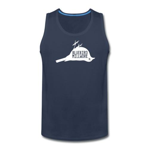 Bluebird Logo - Men's Premium Tank