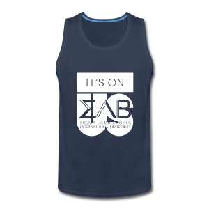 Its On Betas White - Men's Premium Tank