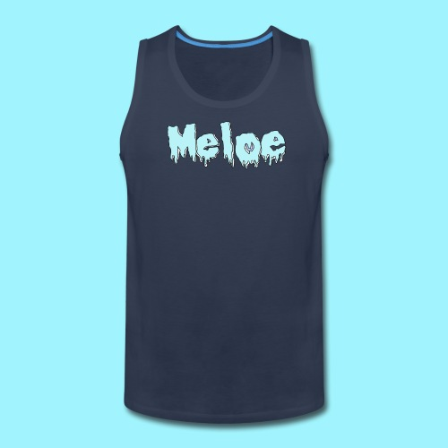 Meloe Drip Drop Logo - Men's Premium Tank