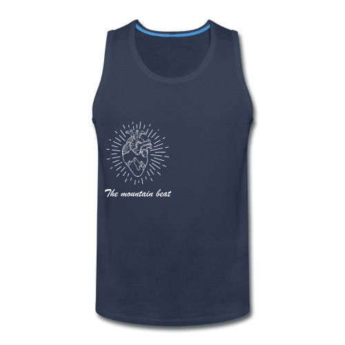 Adventure - The Mountain Beat T-shirts & Products - Men's Premium Tank
