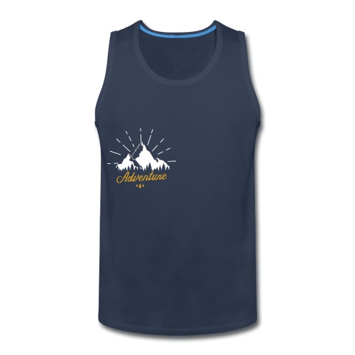 Adventure T-shirts Tees and Products - Men's Premium Tank