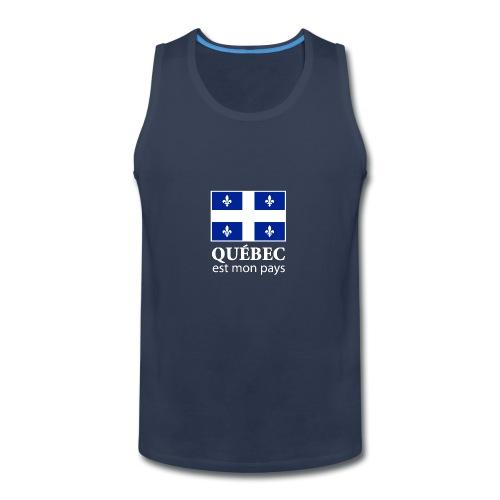 Québec est mon pays - Men's Premium Tank