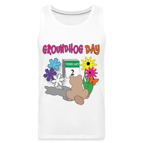 Groundhog Day Dilemma - Men's Premium Tank