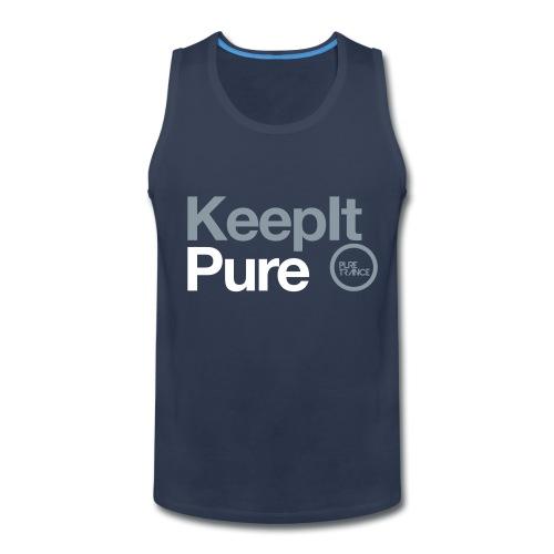 Pure Trance Logo - Men's Premium Tank