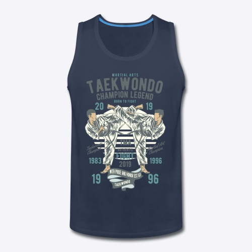 Taekwondo champion - Men's Premium Tank