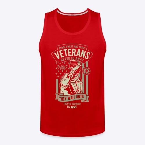 US Army Veterans - Men's Premium Tank