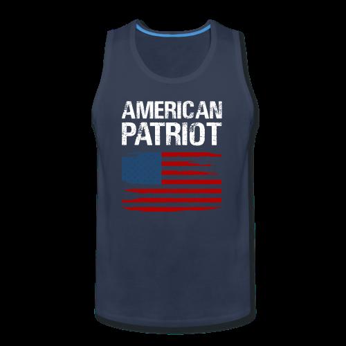 Patriotic American - Men's Premium Tank