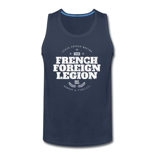 The French Foreign Legion - White - Men's Premium Tank