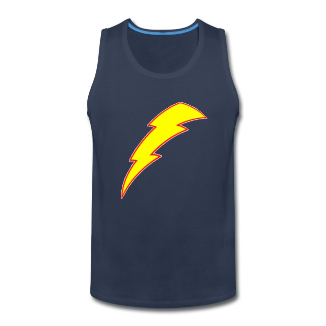 lightning bolt | Men's Premium Tank