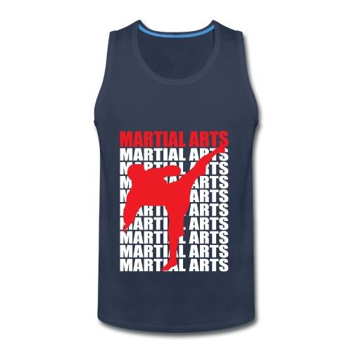 Martial Arts - Men's Premium Tank