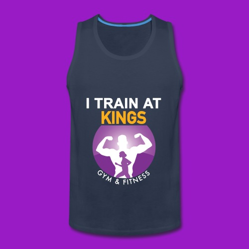 kings gym - Men's Premium Tank