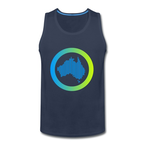 Gradient Symbol Only - Men's Premium Tank