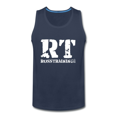 main_rt_white - Men's Premium Tank