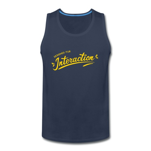 Designed for Interaction - Men's Premium Tank