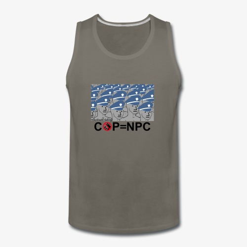 COP=N-P-C - Men's Premium Tank