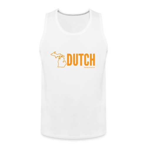 Michigan Dutch (orange) - Men's Premium Tank