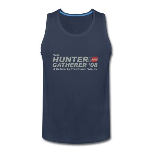 Vote Hunter/Gatherer - Men's Premium Tank