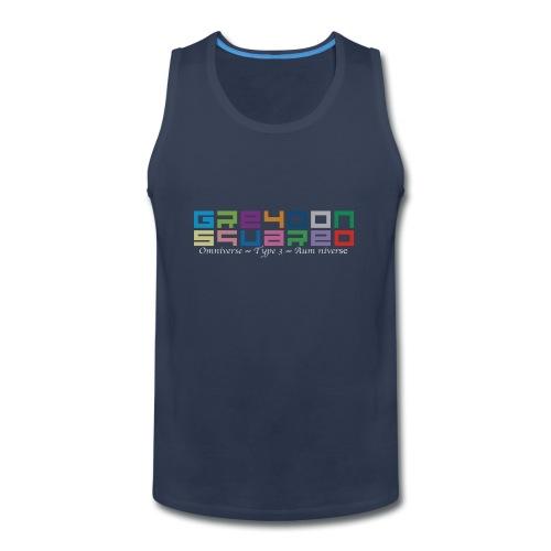 Greydon Square Colorful Tshirt Type 3 - Men's Premium Tank