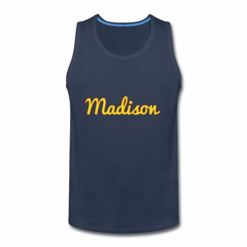 Madison in Gold - Men's Premium Tank