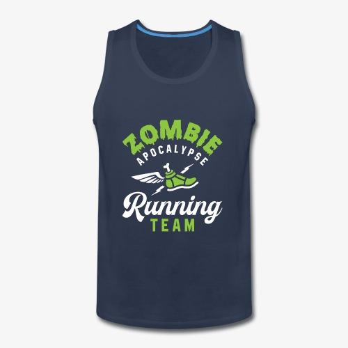 Zombie Apocalypse Running Team - Men's Premium Tank
