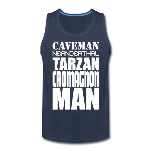 caveman5 - Men's Premium Tank