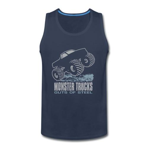 Monster Truck Guts - Men's Premium Tank