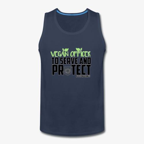 vegan officer - Men's Premium Tank