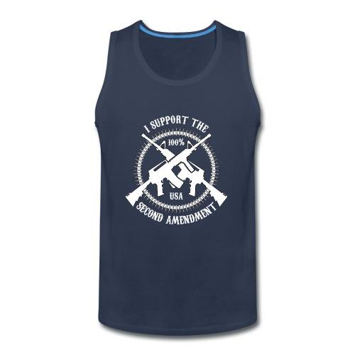 I Support The Second Amendment - Men's Premium Tank
