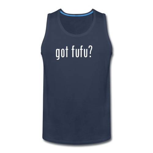 gotfufu-white - Men's Premium Tank