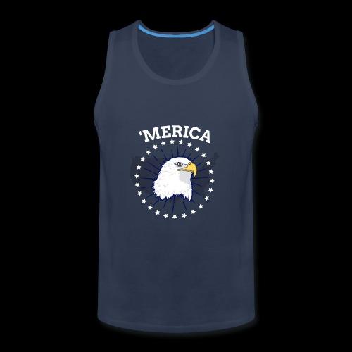 'Merica | American Bald Eagle - Men's Premium Tank