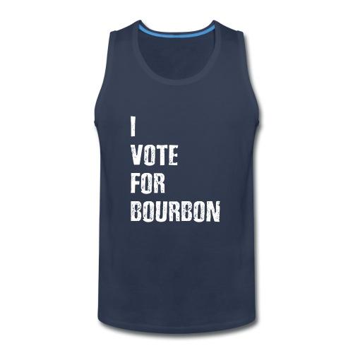 I Vote For Bourbon - Men's Premium Tank