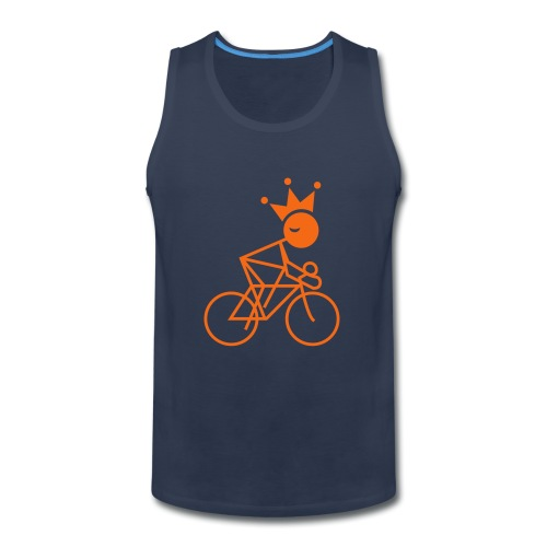 Winky Cycling King - Men's Premium Tank