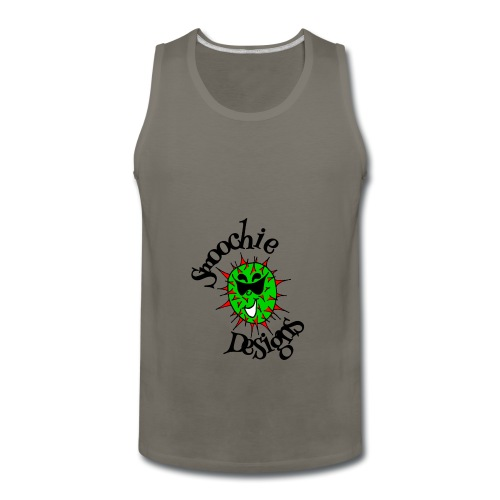 Smoochie Designs logo - Men's Premium Tank