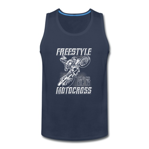 Freestyle Motocross Stunt - Men's Premium Tank