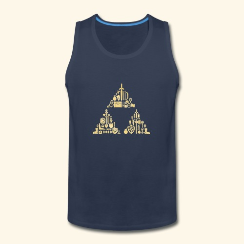 Zelda Triforce - Men's Premium Tank