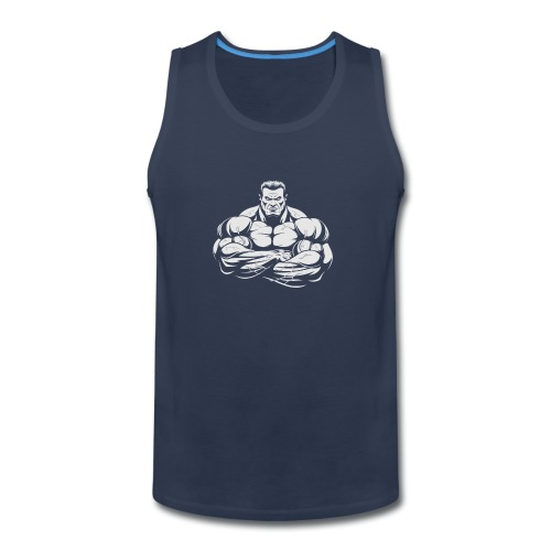 An Angry Bodybuilding Coach - Men's Premium Tank