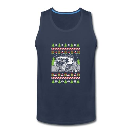 Ugly Christmas Wrangler - Men's Premium Tank
