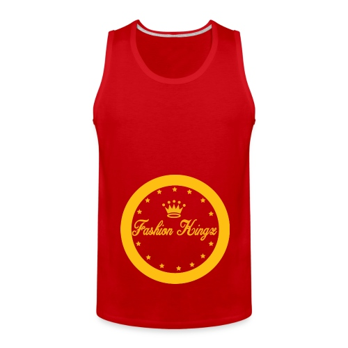Fashion Kingz circle - Men's Premium Tank