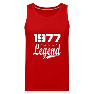 77 Legend - Men's Premium Tank