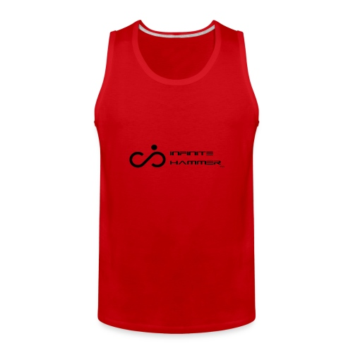 Infinite Hammer Logo Black - Men's Premium Tank