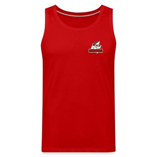 Ironsnack Crest Logo - Men's Premium Tank