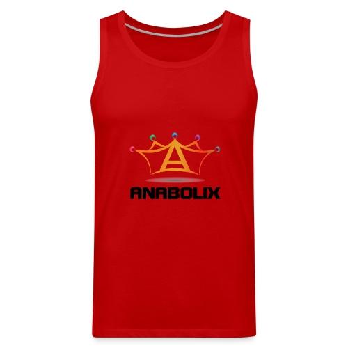 anabolix logo color - Men's Premium Tank