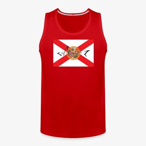 Sharkbaitz Flordia Flag - Men's Premium Tank