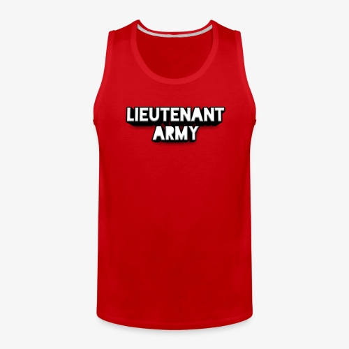 Lieutenant Army Logo - Men's Premium Tank