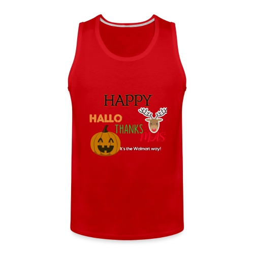HAPPY HALLO-THANKS-MAS - Men's Premium Tank