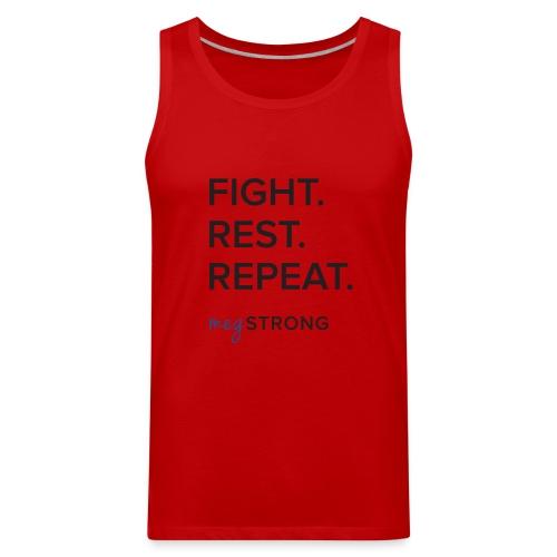 Fight Rest Repeat - Men's Premium Tank