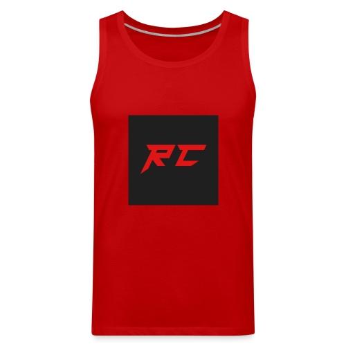 RED RC Logo - Men's Premium Tank