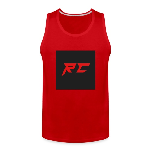 RED RC Logo - Men's Premium Tank
